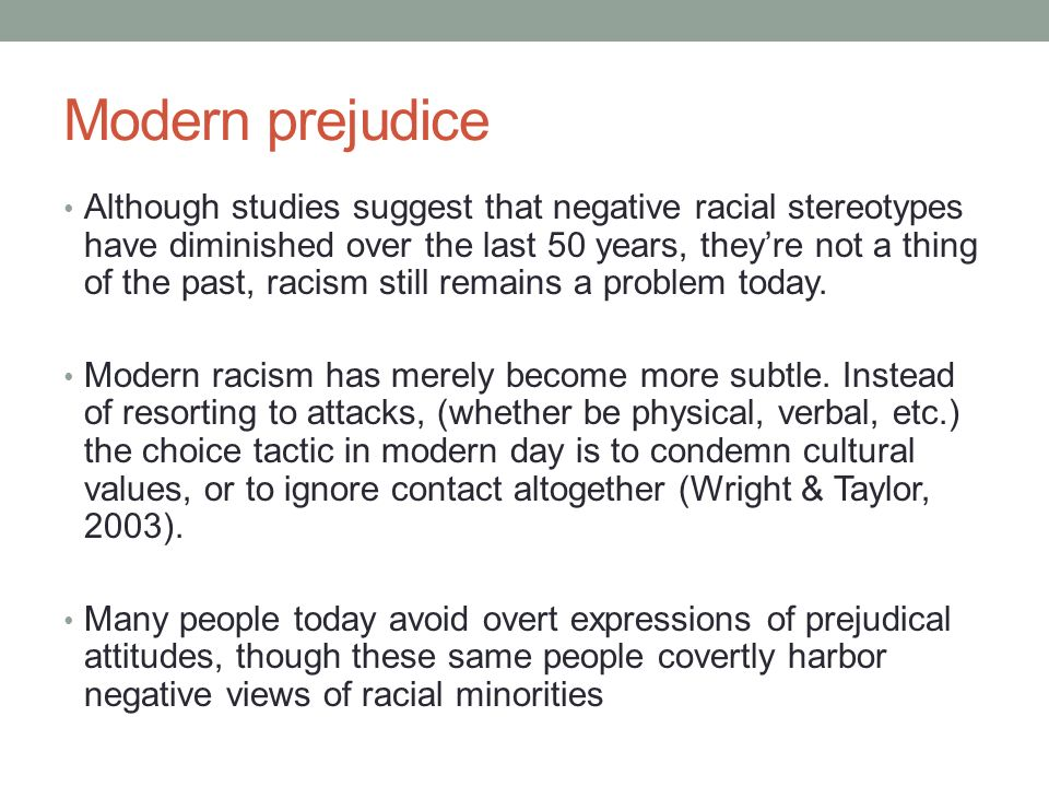 the problem of racism in todays america Racism has been a terrible problem in american society for hundreds of yearsracism issues are not limited to one specific race, but include all races it is the responsibility of the people of this nation to address racism and learn to accept and embrace each other for our differences, and allow this great nation to become even more united for our sake and the sake of future generations.