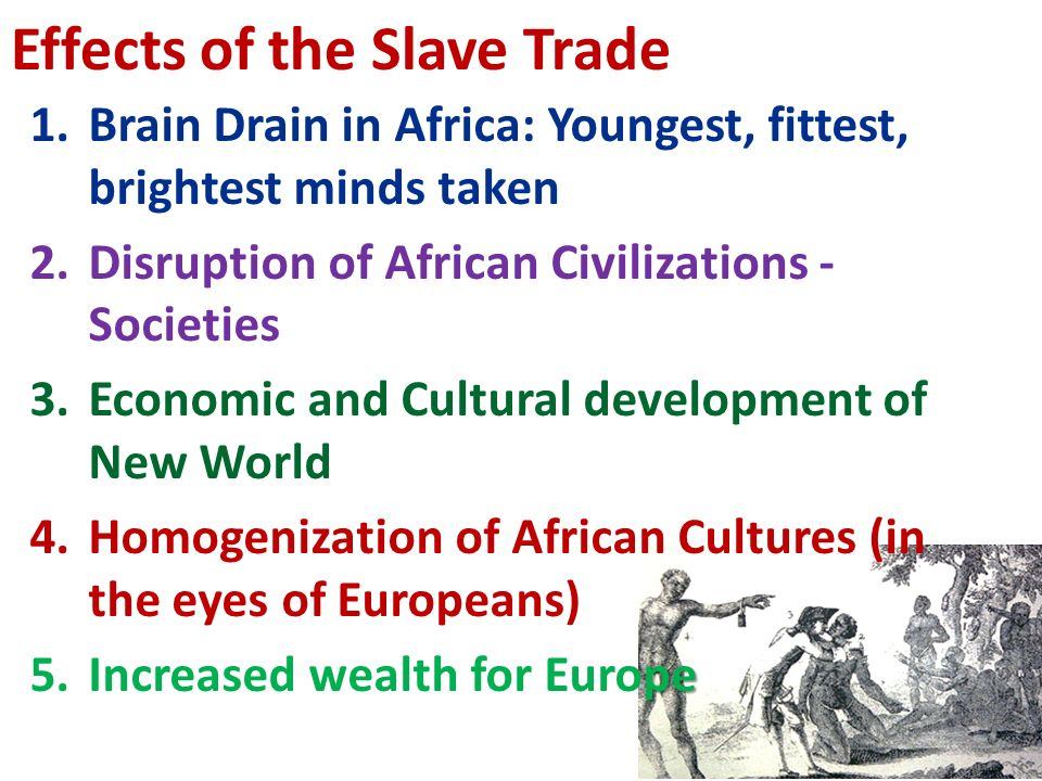 the economic benefits of the slave trade in europe The colonization of africa ehiedu e g iweriebor – hunter college between the 1870s and 1900, africa faced european imperialist aggression, diplomatic pressures, military invasions, and eventual conquest and colonization.