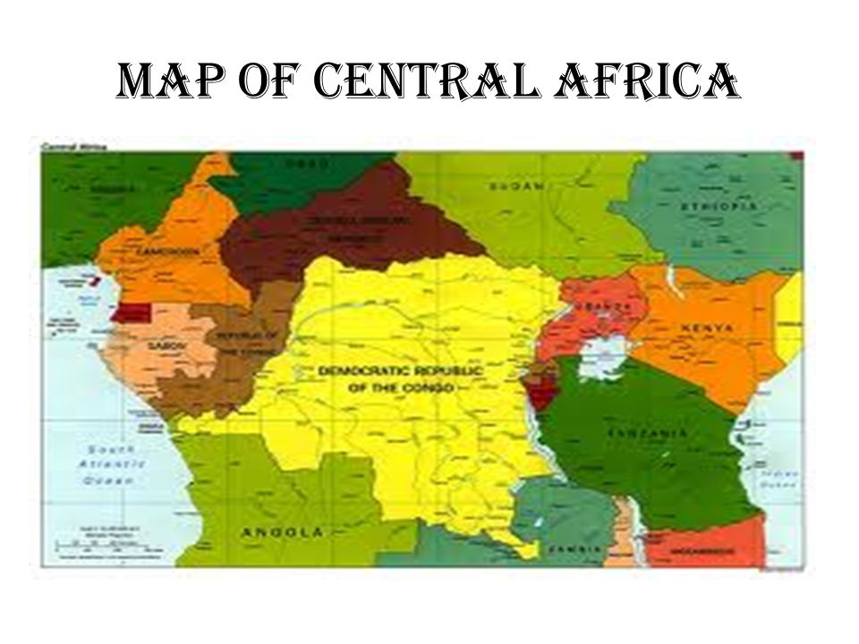 Central Africa ppt video online download