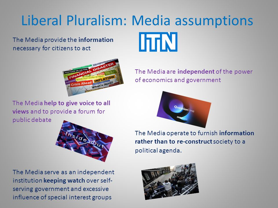 Marxism and pluralism views on media