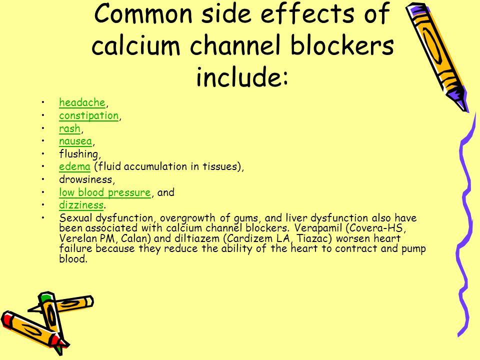 Cardizem Cd Sexual Side Effects