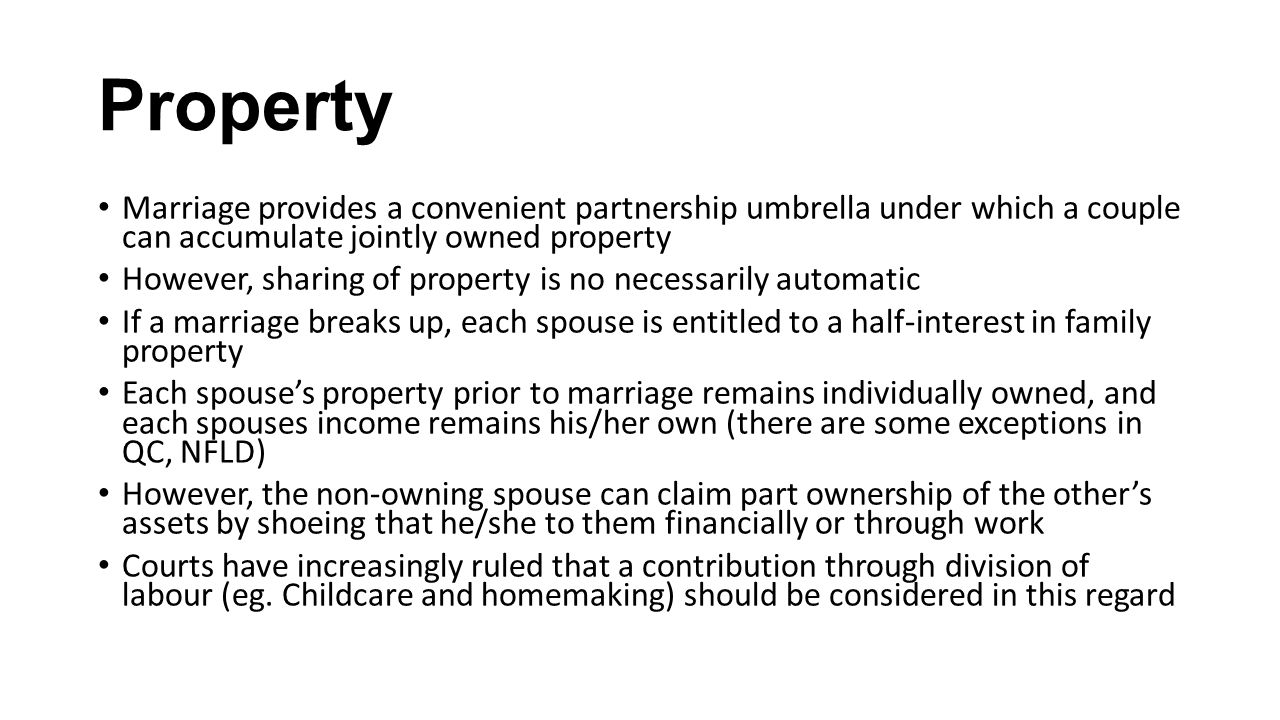 Can I Live In A Property That Is Jointly Owned
