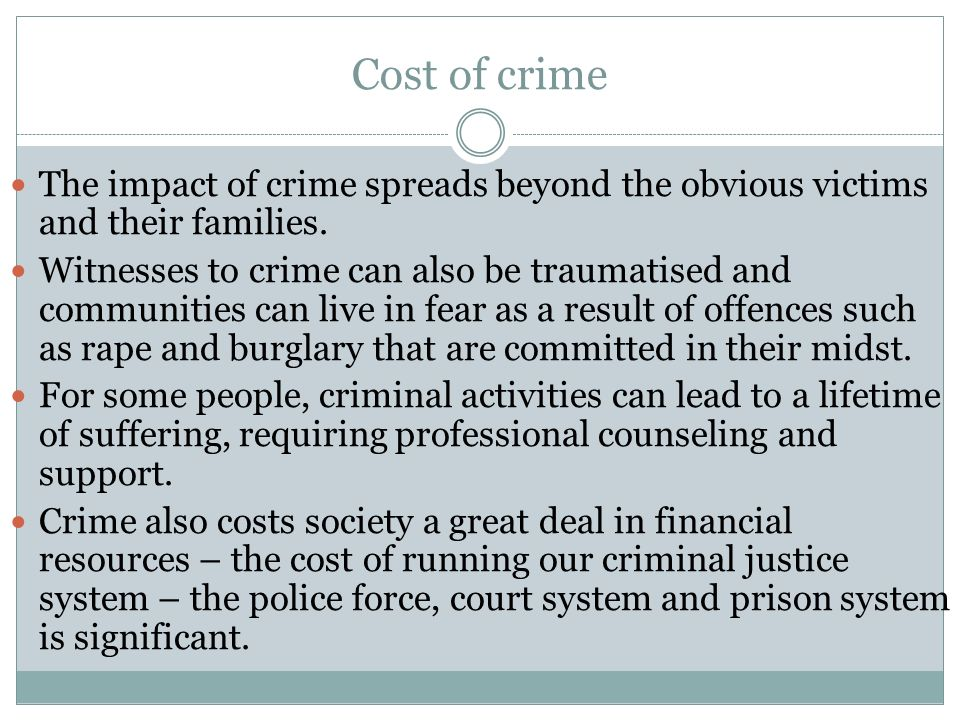 prisons and effect on society That prisons reduce recidivism and at least some evidence to suggest that they have a criminogenic effect the policy implications of this finding are significant, for it means that beyond crime saved through incapacitation, the use of custodial sanctions may have the unanticipated consequence of making society less safe.
