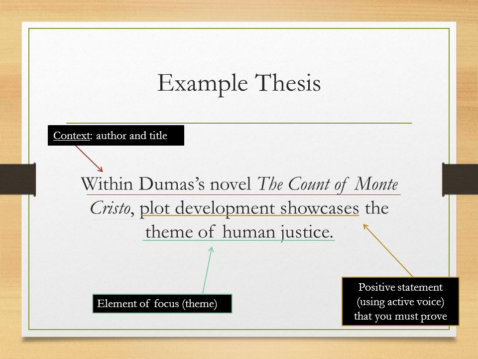 count of monte cristo theme essay Theme of monte cristo and evidence the theme of the count of monte cristo is _____ i found my evidence in paragraph 10, sentence six where it says key words you should somewhere in your essay: theme developed similar, different evidence.