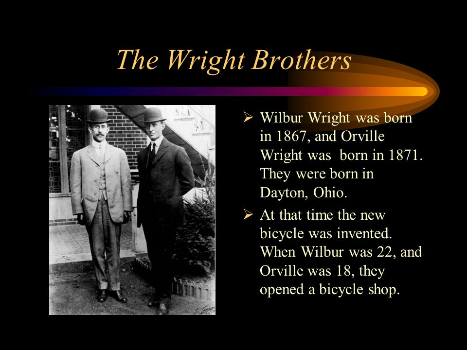 essay writing on wright brothers Wright brothers word count: 727 one-on-one writing assistance from a have your paper proofed and edited the tools you need to write a quality essay or term.