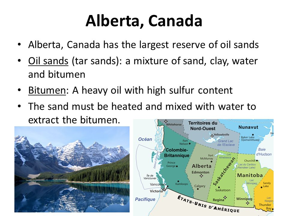 advantages and disadvantages of oil sands The advantages and disadvantages of oil are a factor to be taken into account in this element so controversial to.