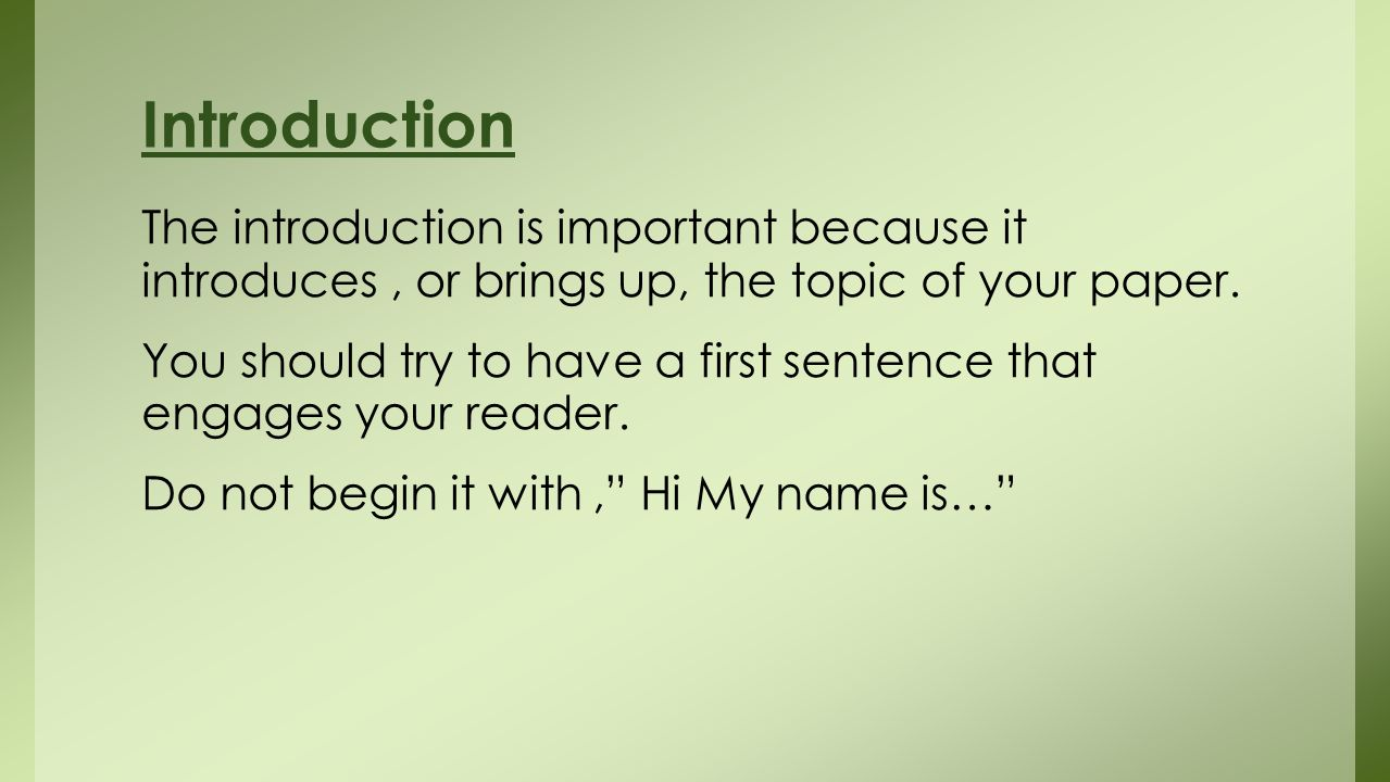 how to start a book review introduction