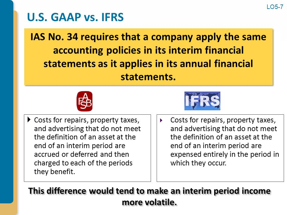 u s gaap vs ifrs Gaap vs ifrs the ifrs or the international finance regulation standards are defined by the international accounting standards board the ifrs is increasingly being adopted by companies.