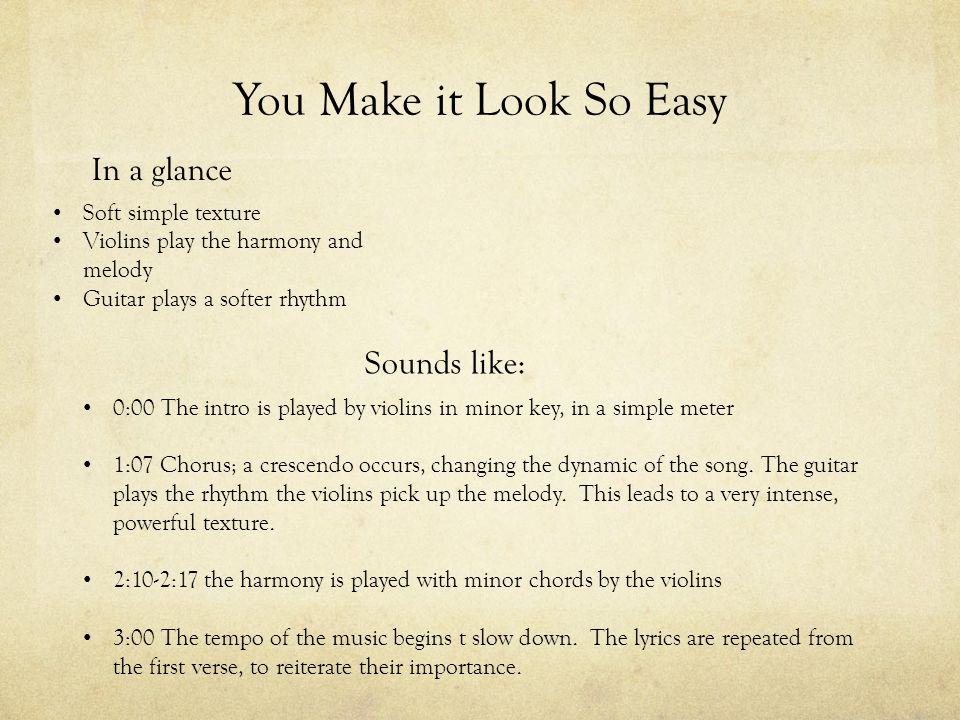 you make it look so easy-Eric Church-单曲 ... - bd.kuwo.cn