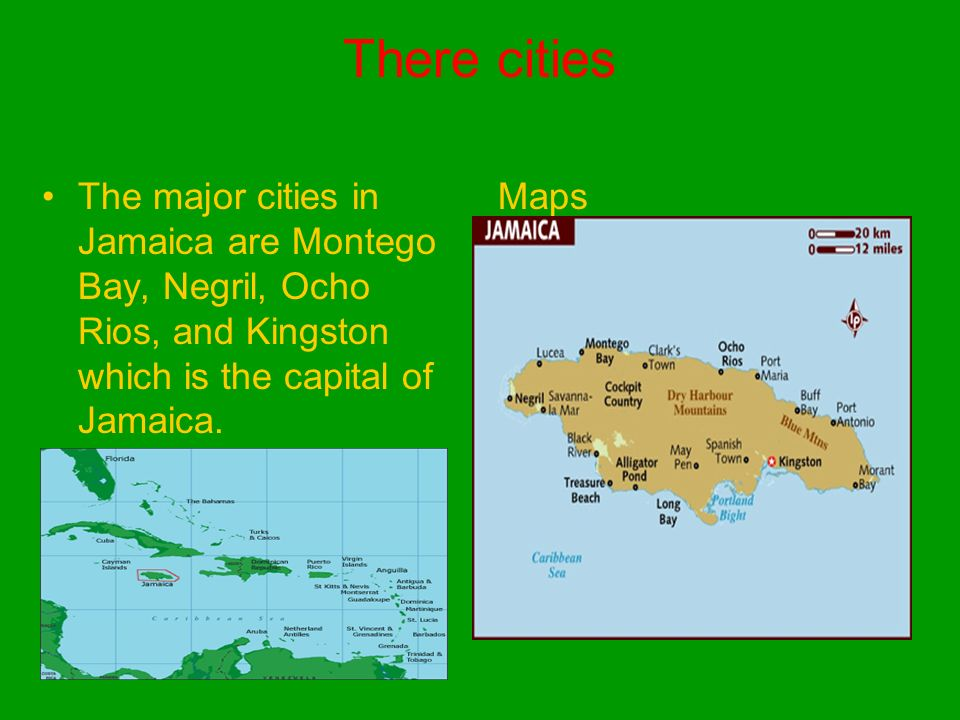 Jamaica Life By Matisse Gardner Ppt Download - Jamaica cities map