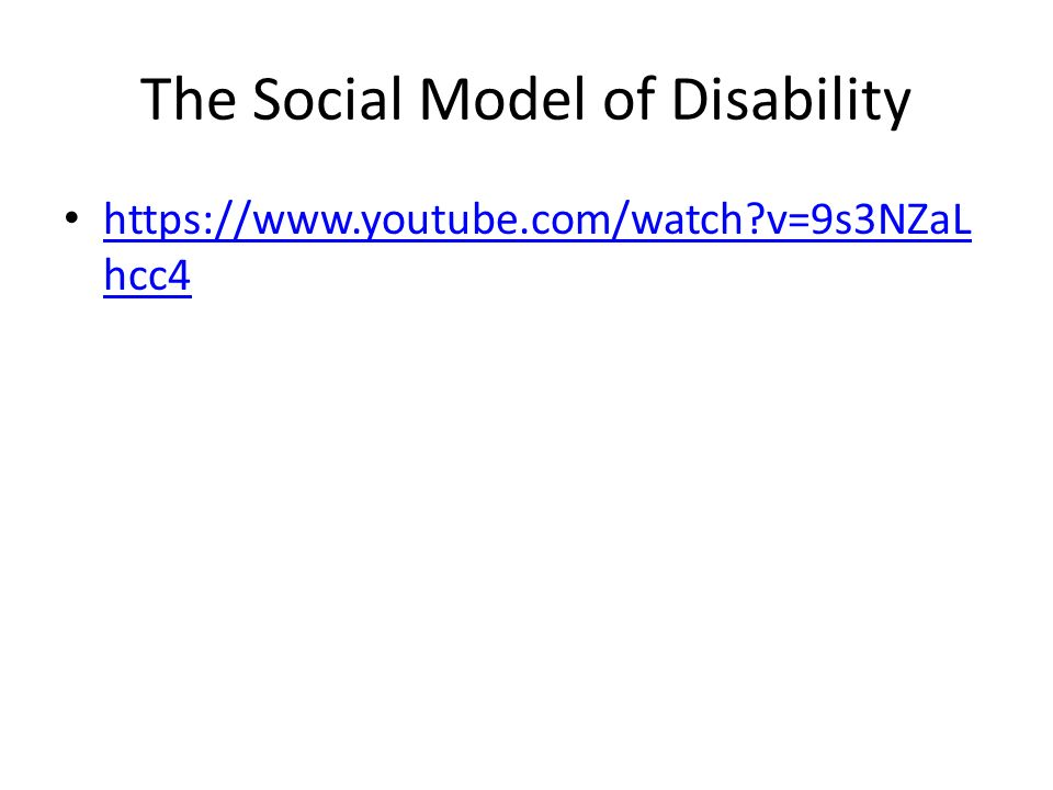 models of disability The social model of disability formed by disabled people themselves challenged the medical model of disability which stated that 'an individual's disability is a .