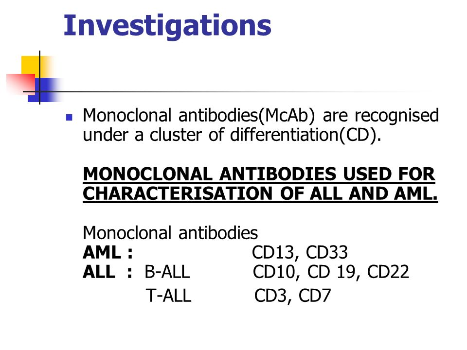 An investigation in monoclonal antibodies