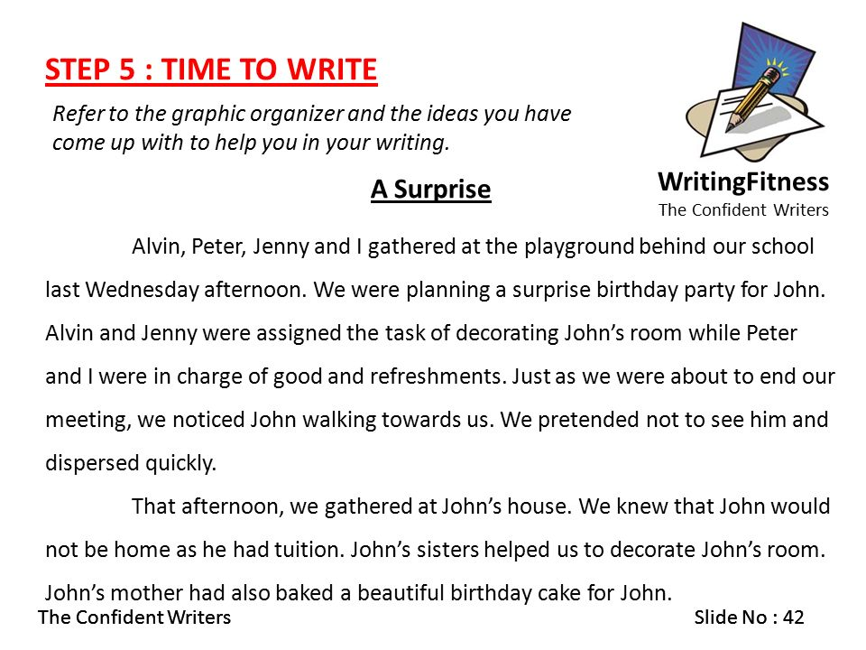"surprise party essay That was the best birthday party ever is the title of this next essay from my ngee ann primary school classmate, stephanie luong ""that was the best party ever."