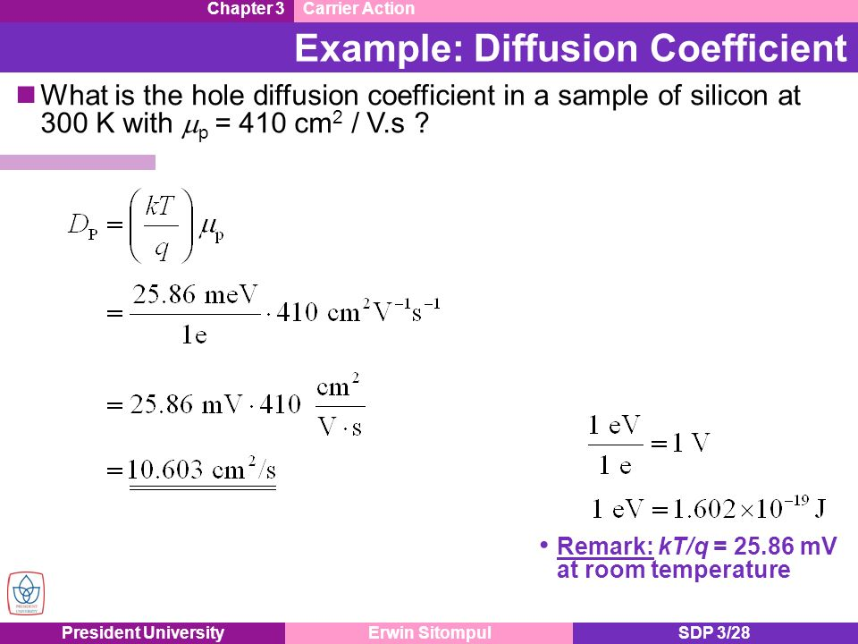 relationship between diffusion and temperature