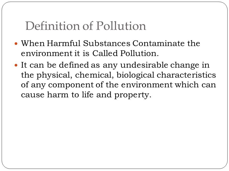 Environmental pollution ppt video online download for Soil pollution definition