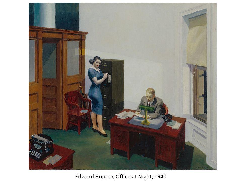 Edward Hopper New York Office Techieblogie Info