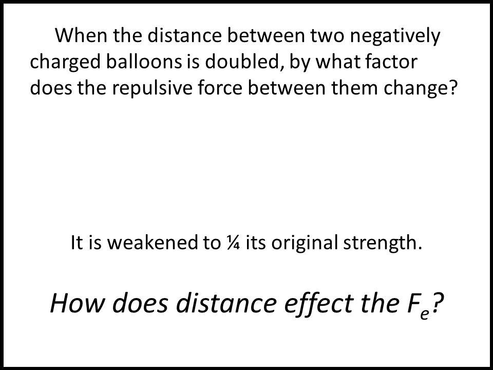 the effects of electric force on matter Electric charge is a fundamental property of matter and the foundation for electricity news  protons and electrons create electric fields, which exert a force called the coulomb force, which .