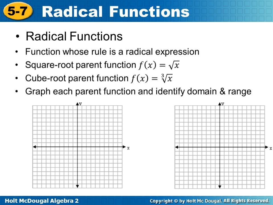 Warm up identify the domain and range of each function ppt download 3 radical functions ccuart Image collections