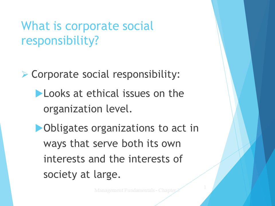 understanding corporate social responsibility and its effects It also has a positive effect on employees, either as a result of being able to  attract better talent, or the csr programs helping to develop better.