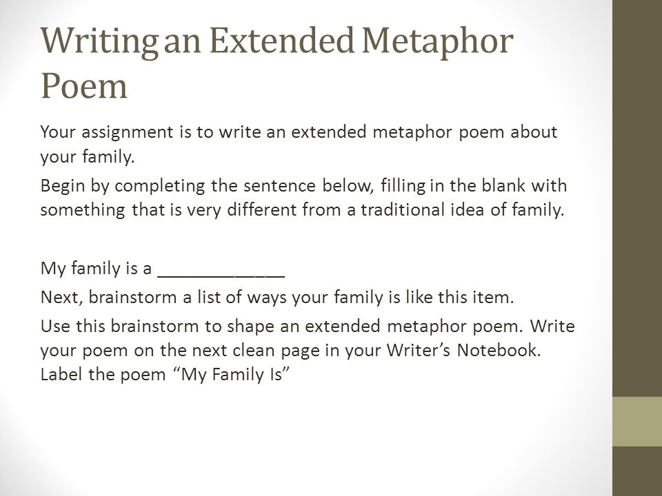 Figurative Language: Metaphors - ppt video online download
