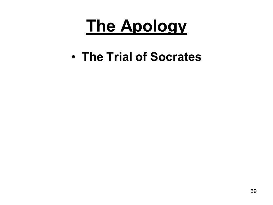 introduction to philosophy ppt video online 59 the apology the trial of socrates