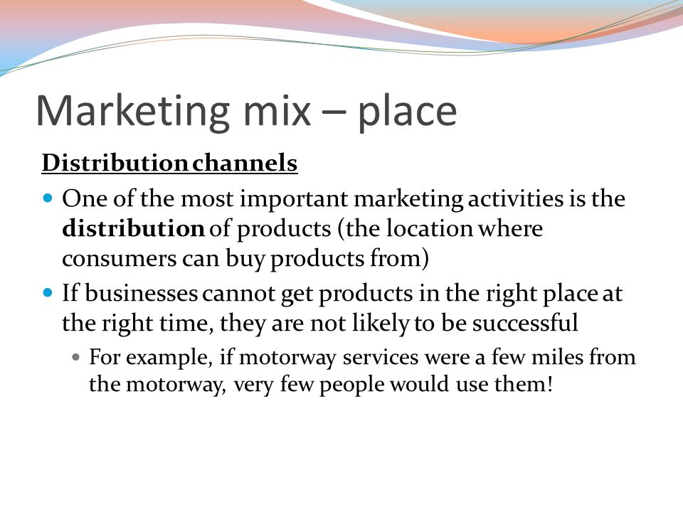 importance of channels of distribution in marketing pdf