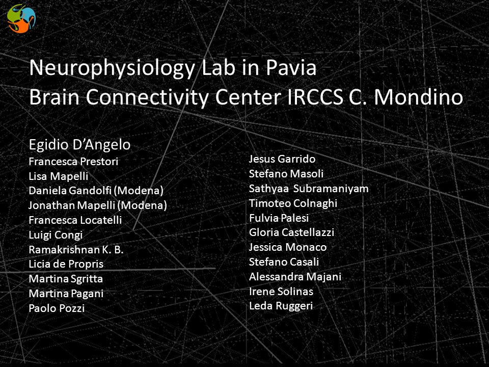 Neurophysiology Lab in Pavia