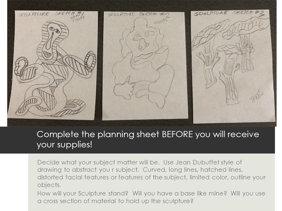 Drawing Lines In R : Jean dubuffet inspired sculpture ppt video online download