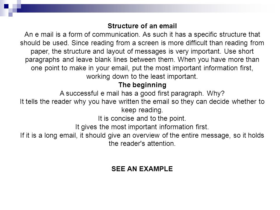 Tips for writing effective professional mail ppt video online download 4 structure altavistaventures Image collections