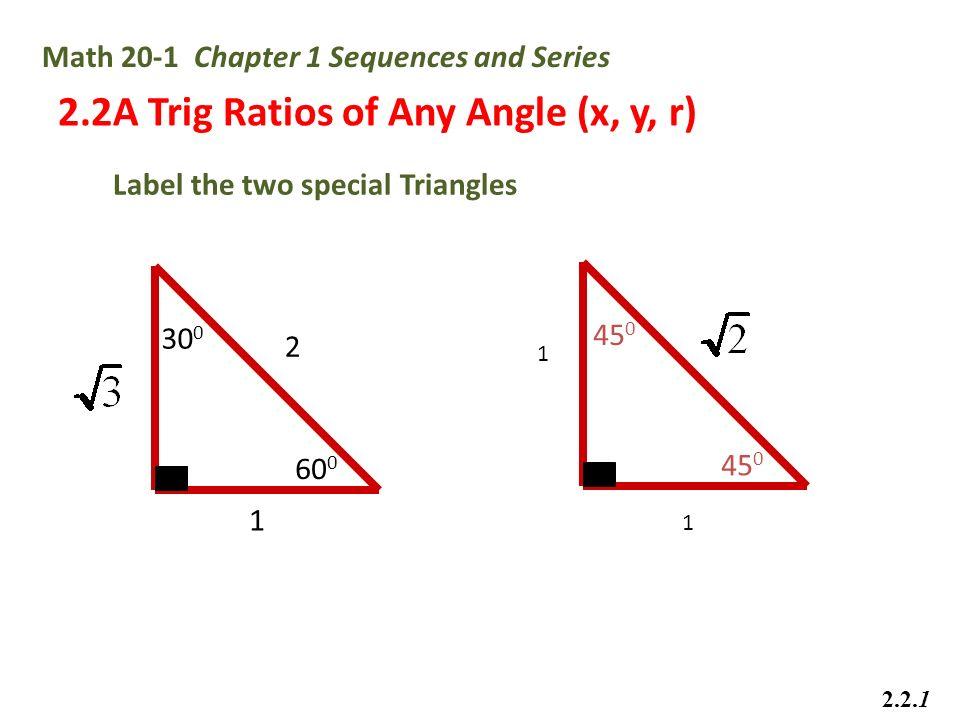 Algebra 2 trig regents review sheet