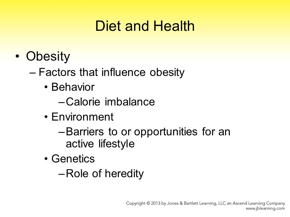 The role of liquid calories in the obesity epidemic