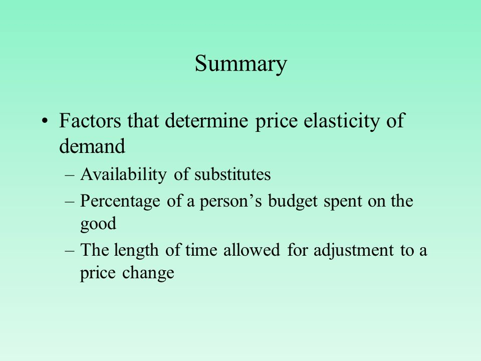 factors that determine the price of There is a cost associated with the factors of production for your product – like materials, factories and labor – and the price of your product needs to be at least this high, in order to cover the cost of its production.