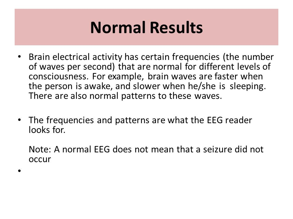 Electroencephalogram Ppt Video Online Download