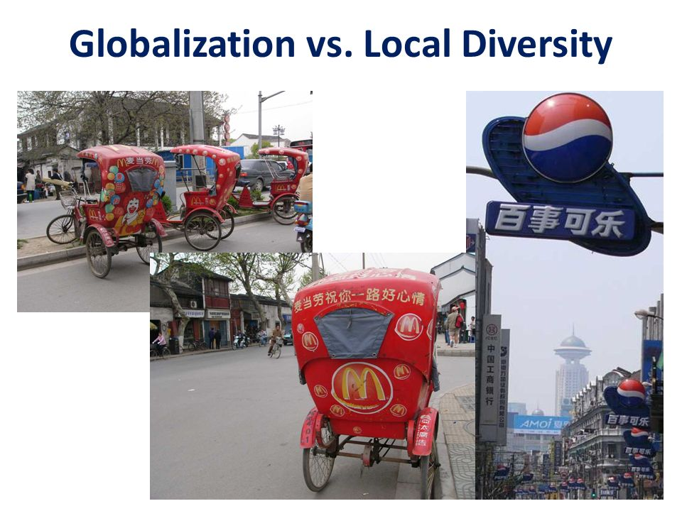 Globalization vs. Local Diversity
