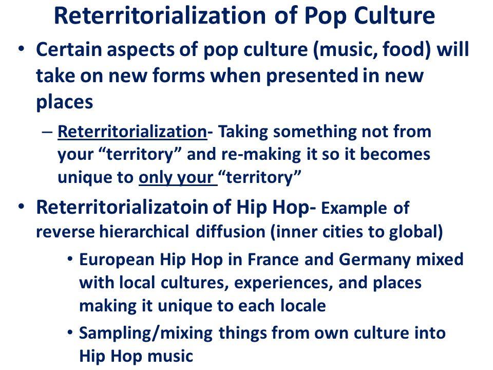 Reterritorialization of Pop Culture