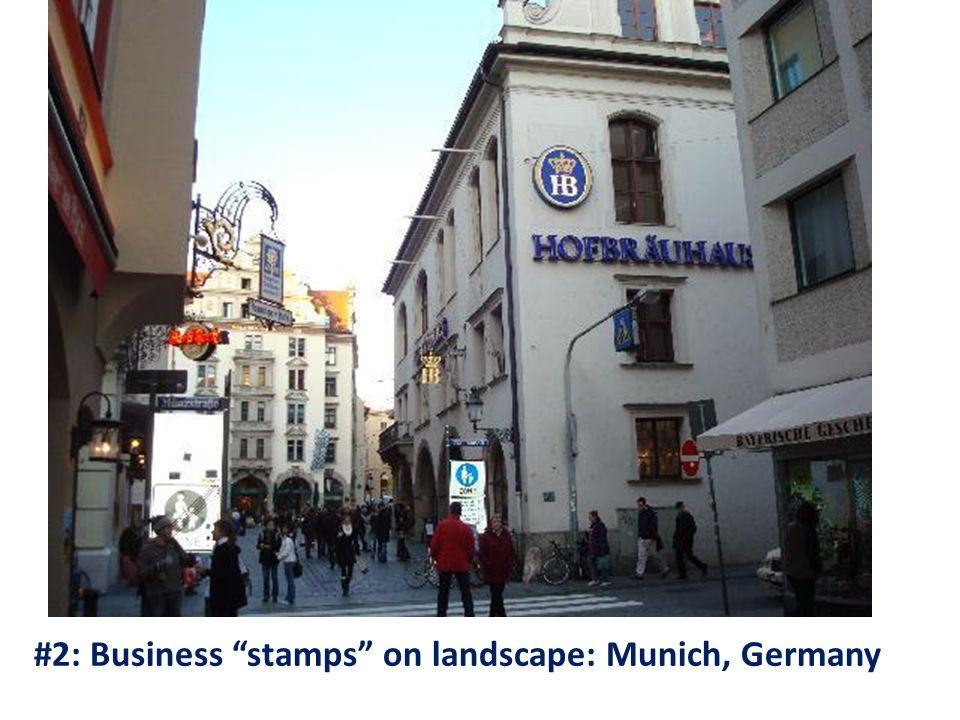 #2: Business stamps on landscape: Munich, Germany