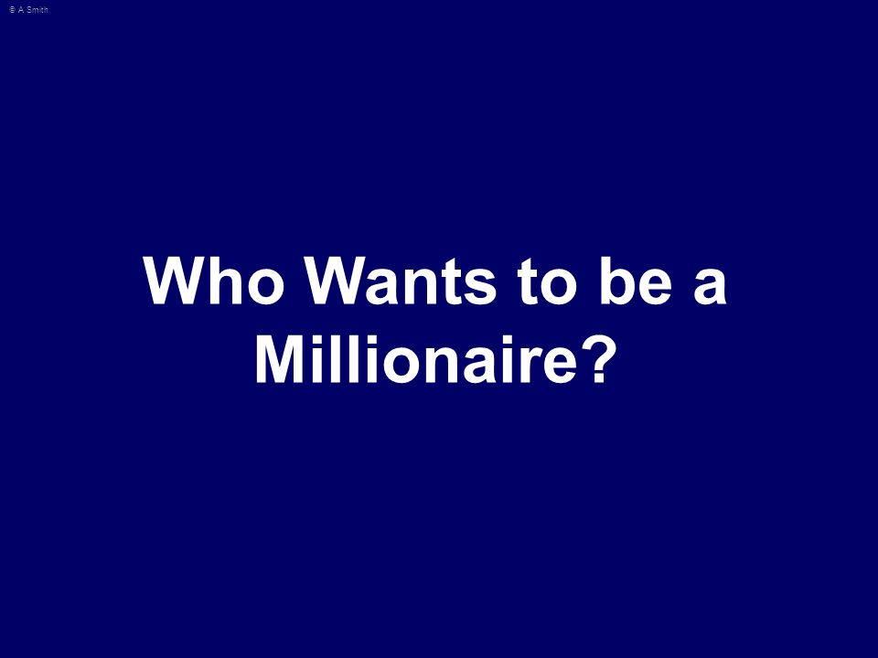 Who Want To Be A Millionaire Template Powerpoint With Sound