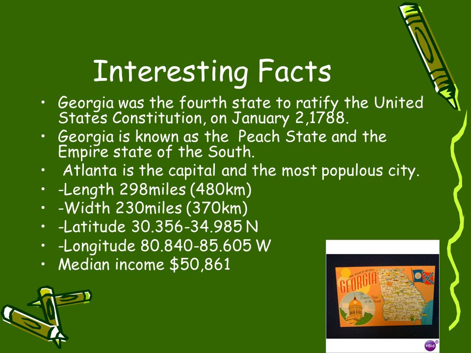 Atlanta ga t a clark ppt download for Interesting facts of usa