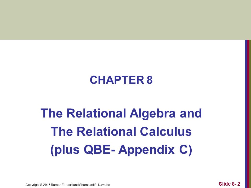 how to use or in relational calculus