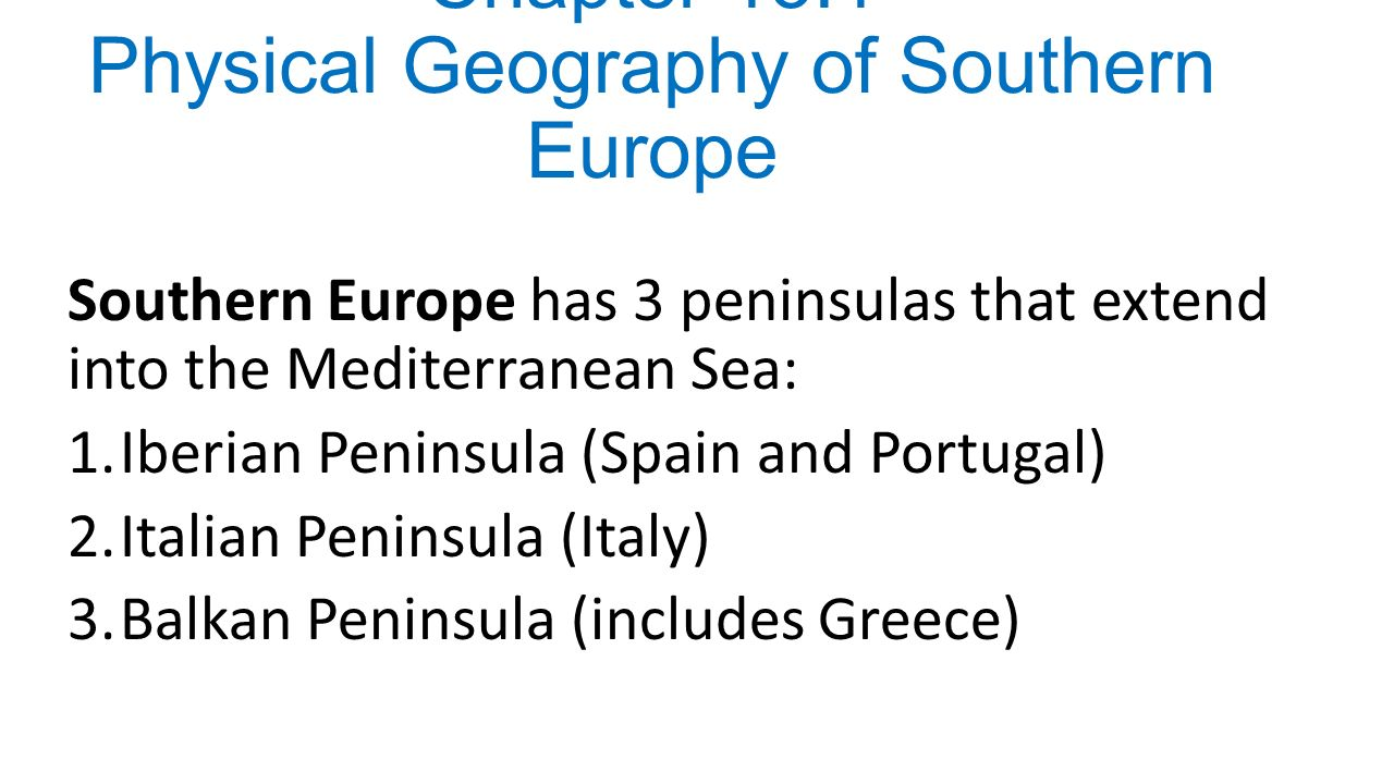 geographical features of the balkan peninsula 2 the physical geography of the balkans and nomenclature of place names jane m reed, boris krystufek and warren j eastwood introduction the complexity of balkan.