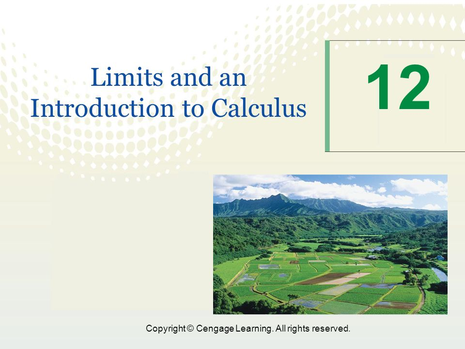 calculus introduction to limits The concept of a limit is fundamental to calculus in fact, calculus without limits is like romeo without juliet it is at the heart of so many calculus concepts like.