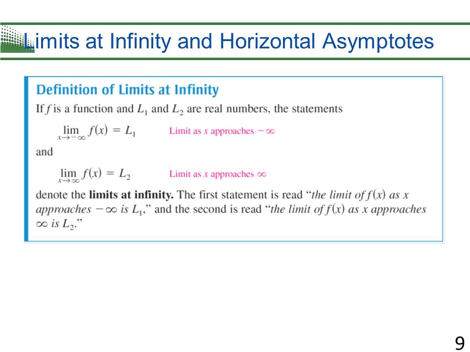 how to find the horizontal asymptote without graphing