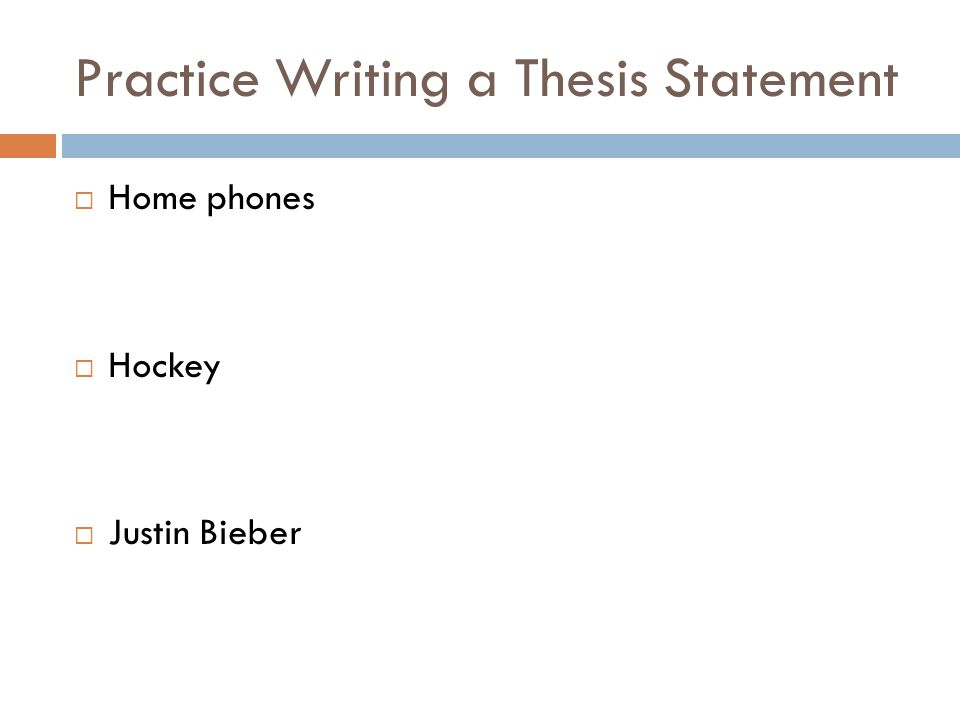 quiz statement thesis Directed learning activity: creating dynamic thesis statements a thesis statement is an arguable assertion that can be proven with thesis check-in quiz: 1.