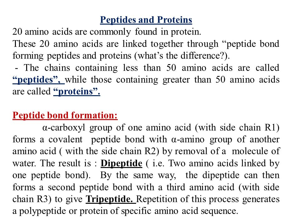 Amino Acids R Lecture (1): - ppt video online download Proteins Amino Acids And Peptides