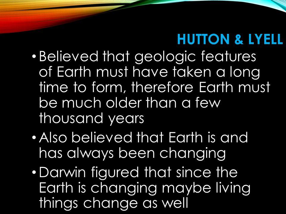 Hutton & Lyell