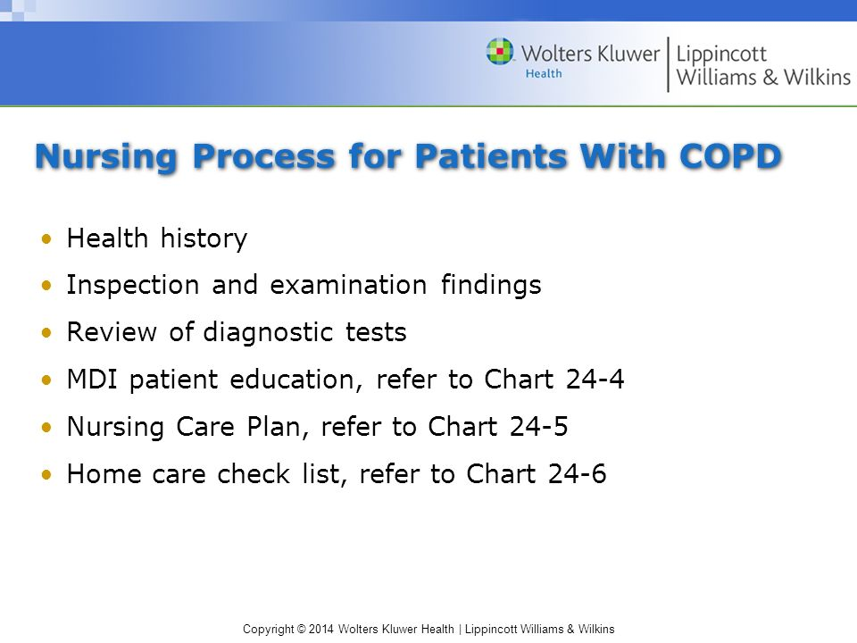 Teaching plan of copd