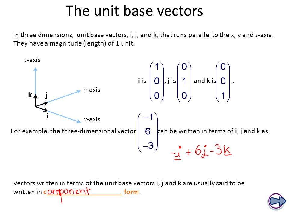 how to know if a vector is parallel
