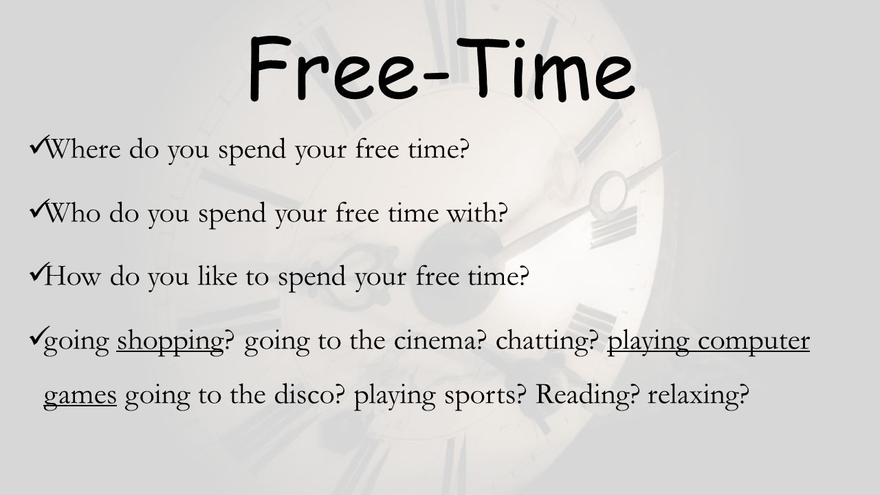 how to spend your free time Looking for free things to do here are more than a hundred fun and free ways to  spend your time and not your money.