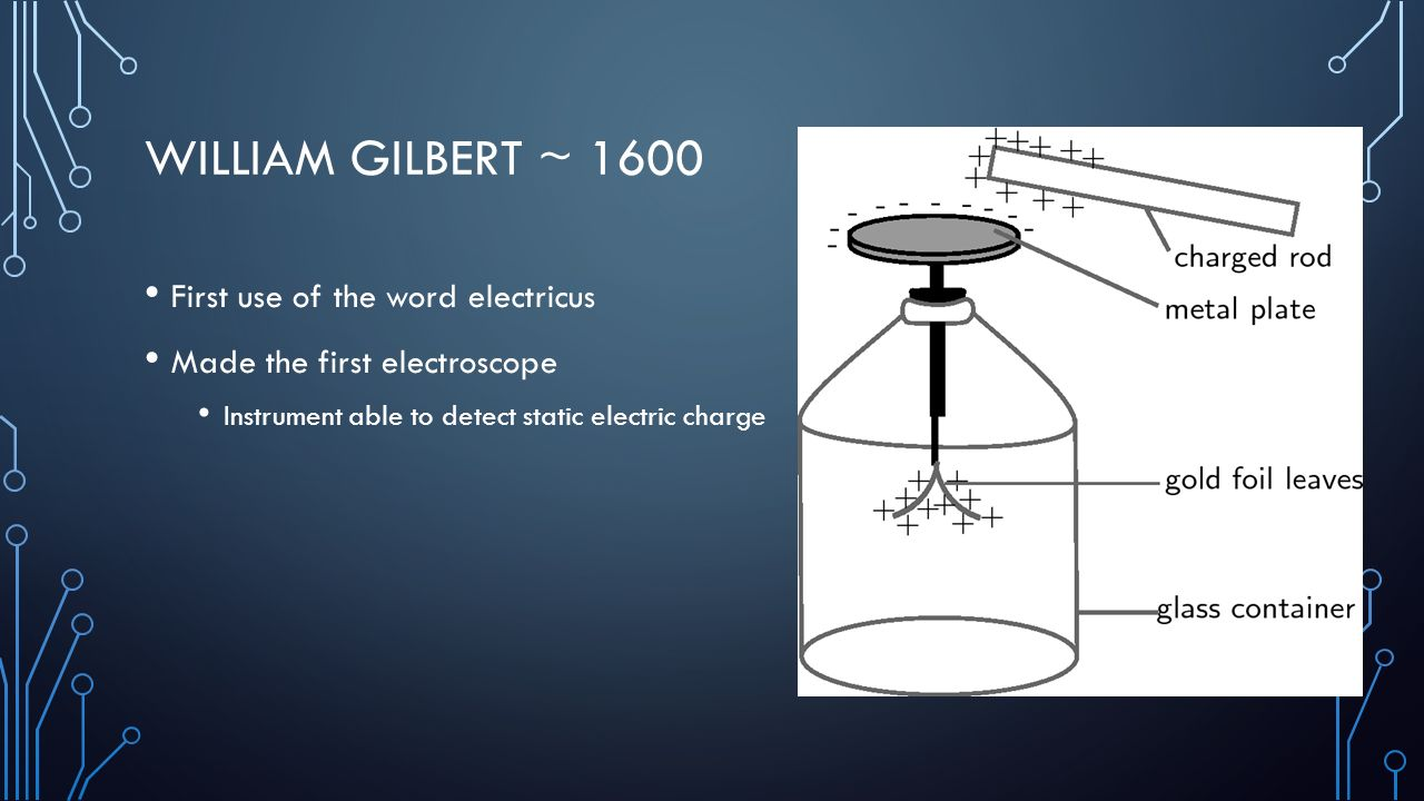 Electrical Measuring Instruments Made By William Gilbert : What causes lightning ppt download