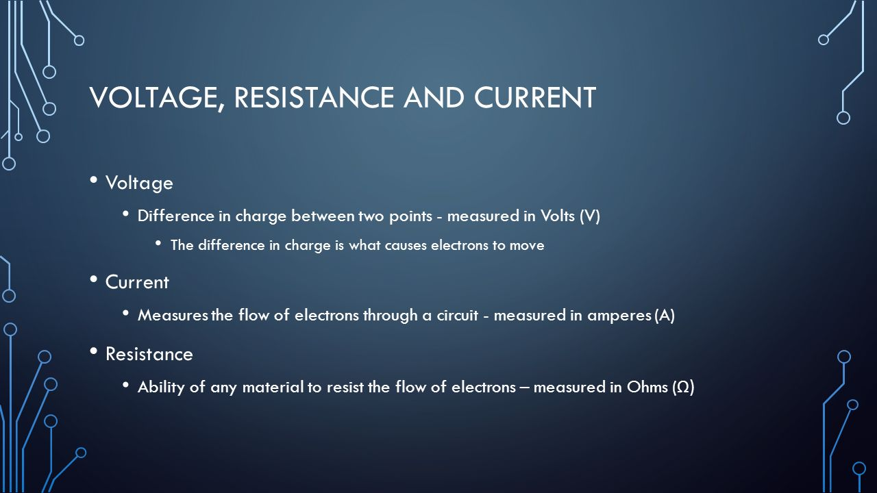difference between voltage and current pdf